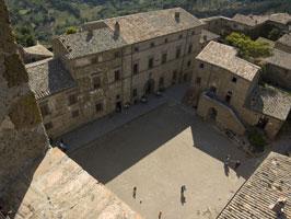 Civita from campanile.