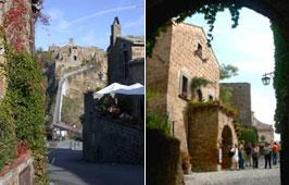 The path to Civita di Bagnoregio