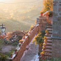 Fall in Civita