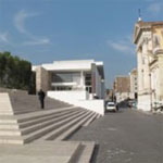 Richard Meier's Ara Pacis Project, Rome. Photo by Clair Enlow